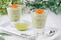 Free Avocado Mousse With Caviar Portions Royalty Free Stock Images - 28818309