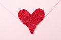 Free Red Heart On A Pink Envelope Royalty Free Stock Photography - 28818417