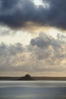 Free St Michael´s Mount From Mousehole Royalty Free Stock Images - 28812149