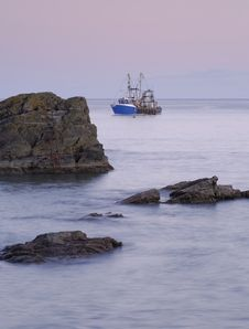 Free Looe Rock View Stock Photography - 28812552