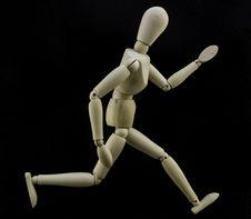 Free Running Puppet Stock Image - 28817351