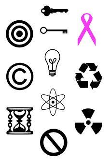 Free Symbols Royalty Free Stock Image - 28817836