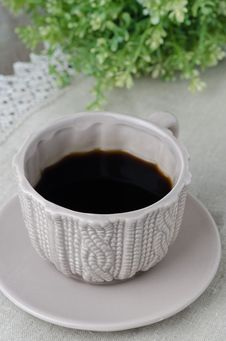 Free Cup Of Black Coffee Stock Photos - 28818343