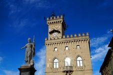 Italian Castle Royalty Free Stock Image