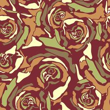 Free Floral Seamless Texture Stock Photography - 28819532