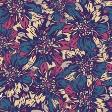 Free Floral Seamless Texture Royalty Free Stock Photography - 28819537