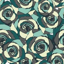 Free Floral Seamless Texture Royalty Free Stock Images - 28819539