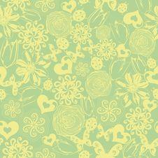 Free Floral Seamless Texture Stock Photos - 28819553