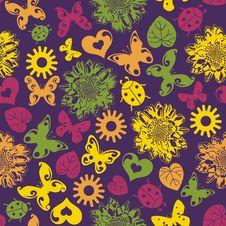 Free Floral Seamless Texture Stock Photos - 28819593