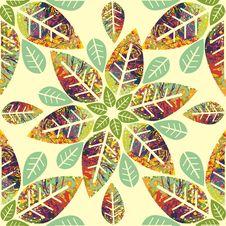 Free Floral Seamless Texture Royalty Free Stock Photos - 28819618