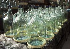 Free Large Glass Bottles Stock Photo - 28819930