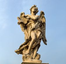 Free Angels - The Symbol Of Rome Stock Photos - 28819953