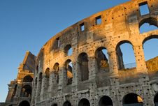 Free Magnificent Colosseum In The First Rays Of Sun Royalty Free Stock Photo - 28819995