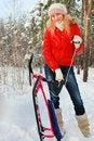 Free Winter Fun Stock Image - 28820331