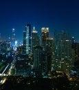 Free Bangkok City Night View Stock Image - 28822761