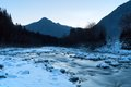 Free Mountain Winter Landscape Royalty Free Stock Images - 28823079