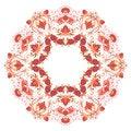 Free Vector Round Ornament. Stock Photos - 28824783
