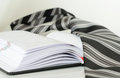 Free Tie On A Diary Stock Images - 28827034