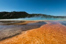 Free Orange Lake In Yellowstone Royalty Free Stock Image - 28820016
