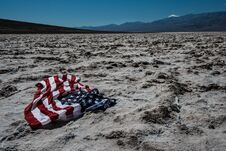 Free Death Valley USA Flag Stock Photo - 28820140