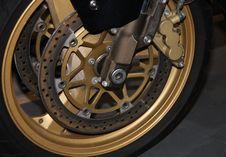 Free Wheel And Disc Brake. Royalty Free Stock Image - 28821396