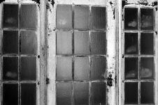 Free Stark White Of Scarred Metal Doors Royalty Free Stock Photos - 28821848