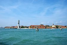 Free Murano Island White Lighthouse, Venice, Italy Stock Photography - 28826152