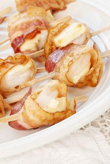 Free Shrimp Appetizer Royalty Free Stock Photos - 28826468