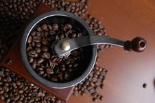 Free Retro Coffee Mill Stock Photo - 28826480