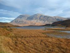 Free Arkle And Loch Stack, North West Highlands Of Scotland Royalty Free Stock Photo - 28827705