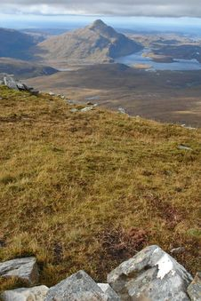 Free Ben Stack, Highlands, Scotland Stock Image - 28827751
