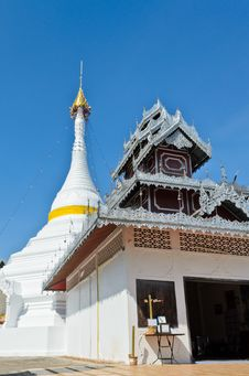 Free Wat Phra That Doi Kong Mu Temple, Thailand. Royalty Free Stock Photos - 28828228