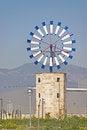 Free Mediterranean Windmill Royalty Free Stock Image - 28833926