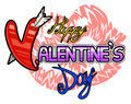 Free Happy Valentines Day Logo Stock Photography - 28839332