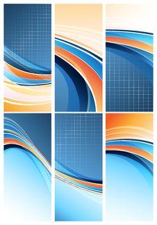 Modern Designs Set. Eps10 Stock Images