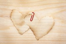 Heart Shape-Valentine S Day Royalty Free Stock Image