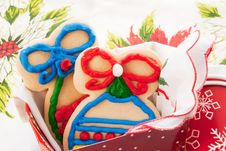 Free Christmas Cookies Stock Photography - 28834012