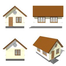 Free Elevation House Stock Photos - 28834923