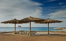 Free View On The Red Sea From Eilat, Israel Royalty Free Stock Photography - 28835827