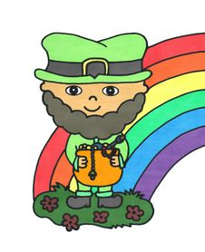 Free Leprechaun Royalty Free Stock Image - 28837116