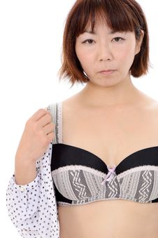 Sexy Young Asian Woman Royalty Free Stock Images
