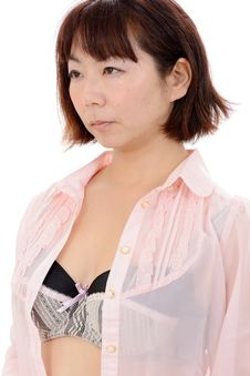 Sexy Young Asian Woman Royalty Free Stock Photos