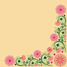 Free Vintage Floral Background Stock Images - 28837704