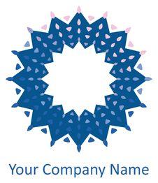 Free Blue Star Logo Royalty Free Stock Photos - 28838868