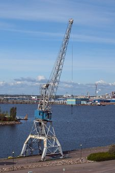 Free Port Crane Stock Photography - 28839832