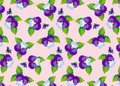 Free Pattern Purple Pansies Royalty Free Stock Photo - 28841565