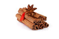 Free Cinnamon And Anise  On White Royalty Free Stock Photos - 28847538