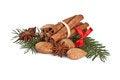 Free Fragrant Spices  On White Stock Photos - 28847733