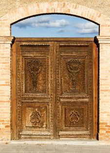 Free Old Door Royalty Free Stock Photos - 28840458