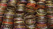 Free Colourful Wrist Bangles. Stock Image - 28841071